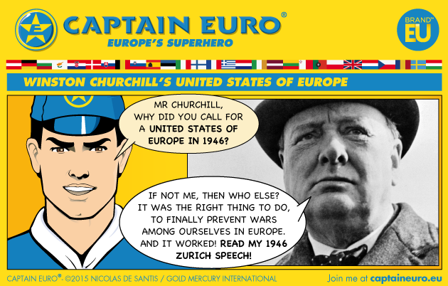 Brand EU Revives Churchill's 1946 Speech Calling for a United States of Europe