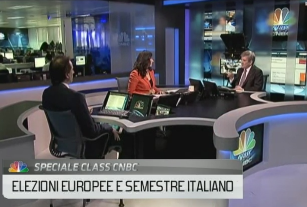 Nicolas De Santis and Enrique Barón Crespo Interviewed on CNBC