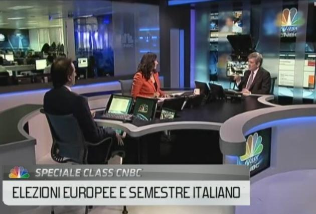 Nicolas De Santis and Enrique Barón Crespo Interviewed on CNBC
