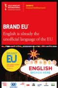 English is already the unofficial language of the EU