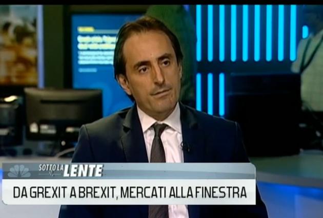 Nicolas De Santis on CNBC Italy on Consequences of Brexit & Grexit