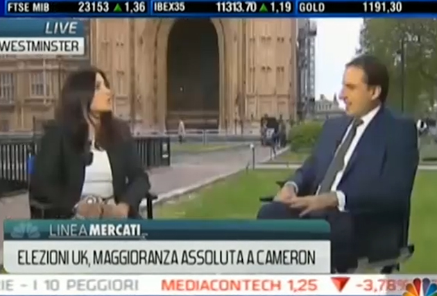 De Santis on CNBC News Commenting on UK Election & EU Referendum