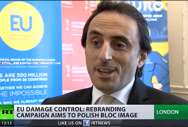 BRAND EU featured on Russian TV news channel, RT