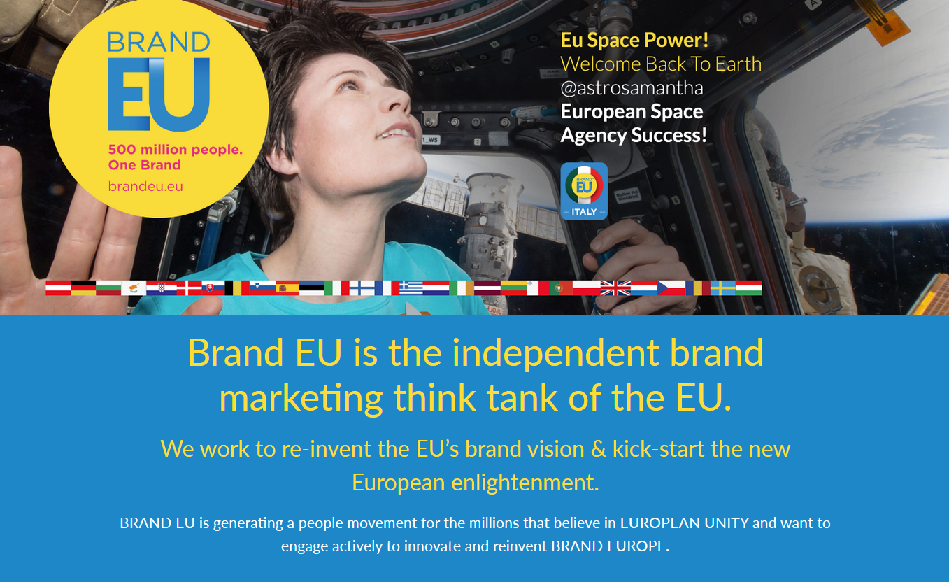 BRAND EU Starts Campaigning for Britain to Stay in the EU