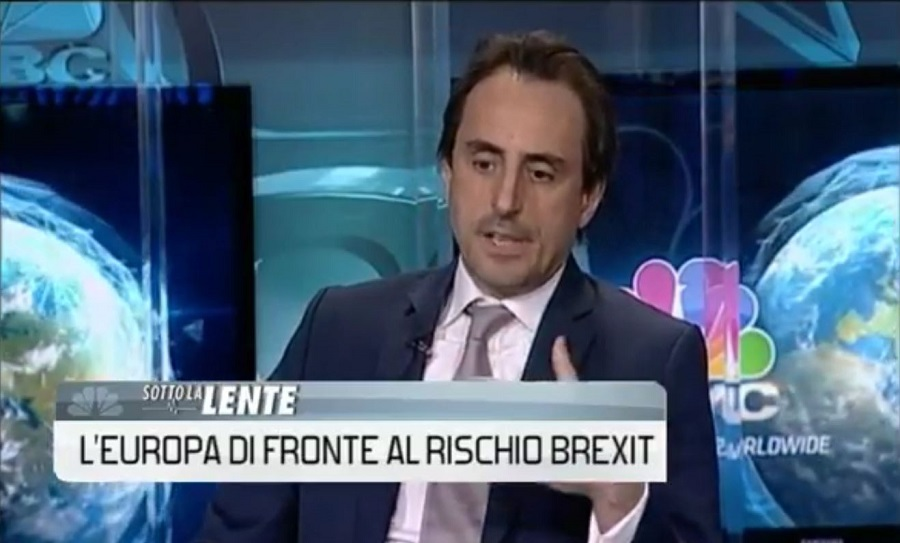 CNBC Interviews Nicolas De Santis on Brexit and EU Referendum