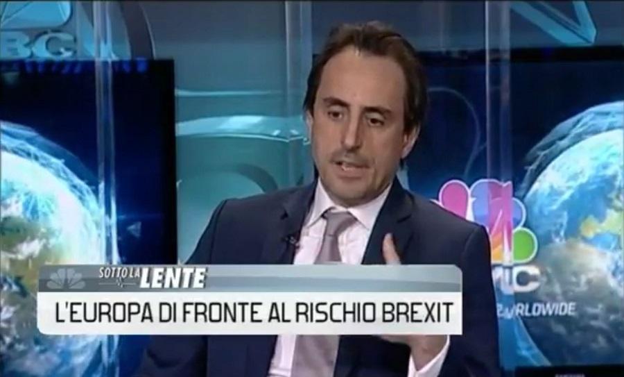 CNBC Interviews Nicolas De Santis on Brexit and EU Referendum