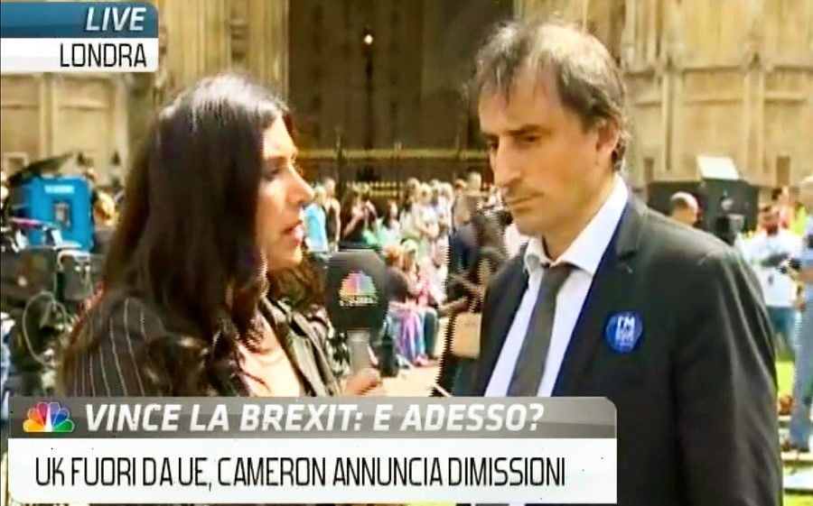 Nicolas De Santis talks to CNBC Italy on the aftermath of Brexit