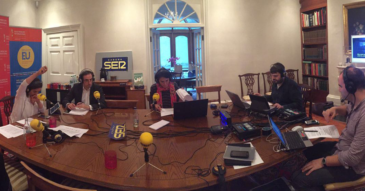 Cadena SER Radio and BRAND EU partner to cover UK's EU Referendum live from London