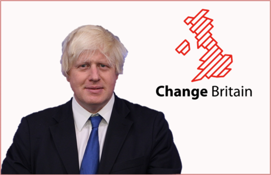 "Boris Johnson pressures ""Brexit"" by backing ""Change Britain"" campaign."