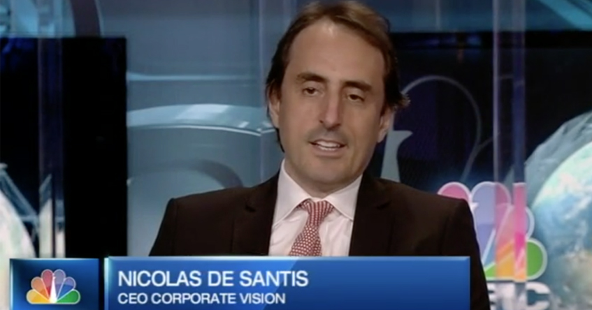 "Nicolas De Santis founder of BRAND EU on CNBC news: ""The EU needs to clarify its vision and brand to its citizens"""