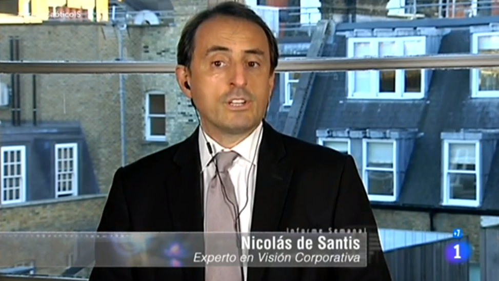 BRAND EU founder and CEO of Corporate Vision talks Brexit on TVE, Spanish Television