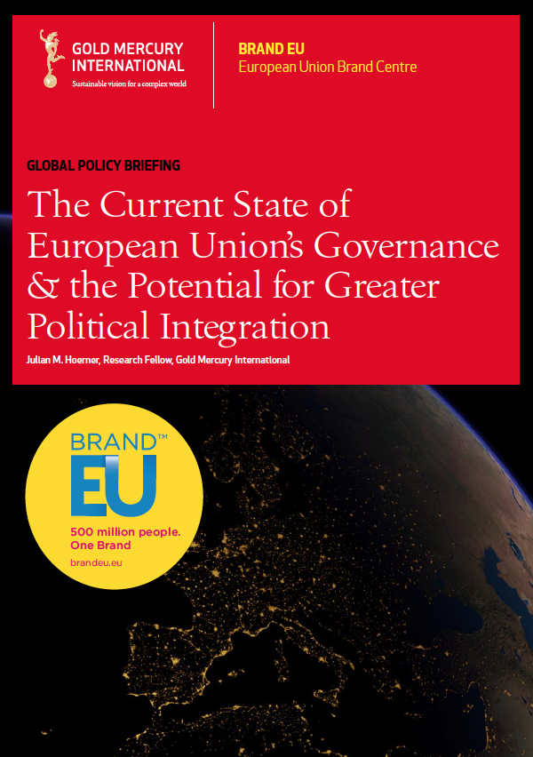 The Current State of European Union's Governance & the Potential for Greater Political Integration