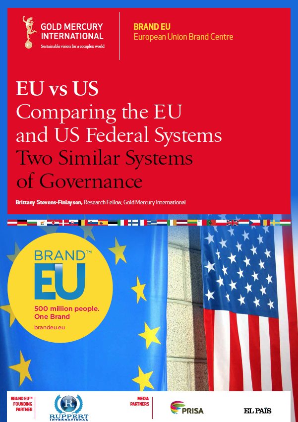 EU vs US Comparing the EU and US Federal Systems